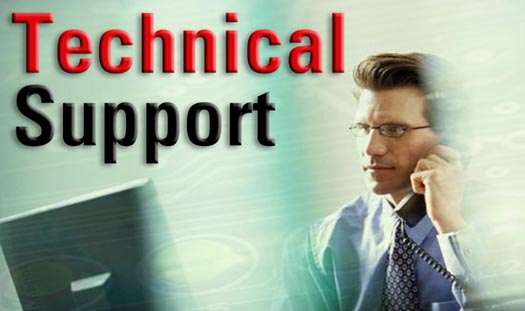 What is technical support?